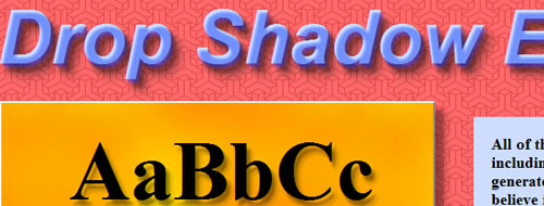 jquery-text-shadow